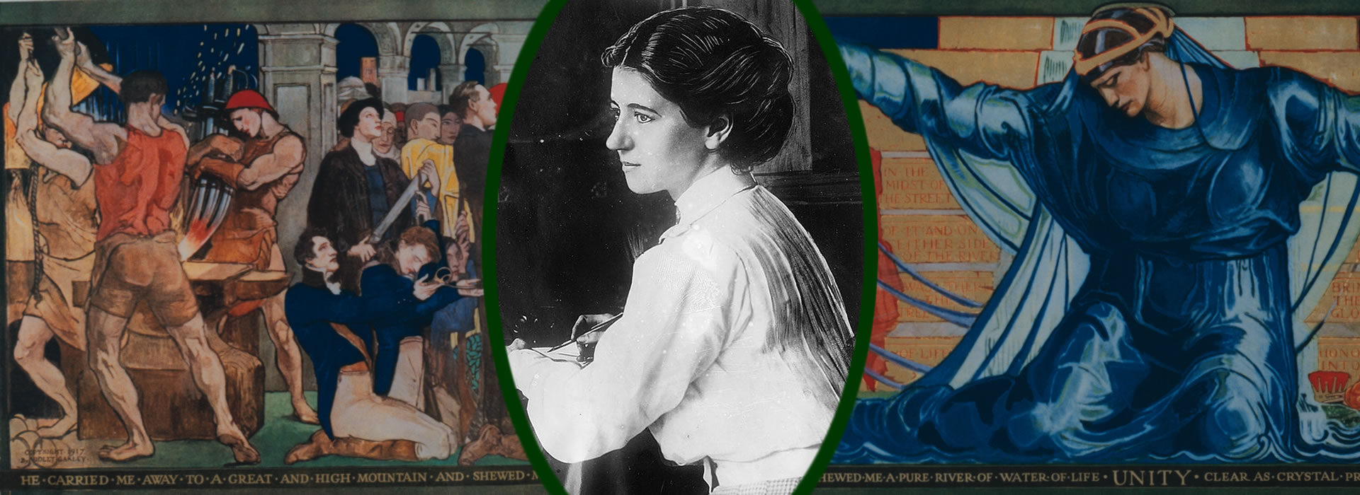 Spirit & Substance: 100 Years of Violet Oakley, Capitol Muralist